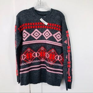 NWT J. Crew Fair Isle Wool Sweater